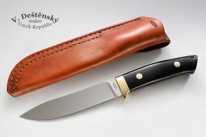 No.324 - hunting knife Elmax/micarta (Loveless design)