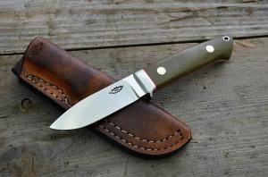 No.335 - drop point D2/Micarta (Loveless design)