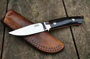 No.336 - bowie D2/micarta ( Loveless design)