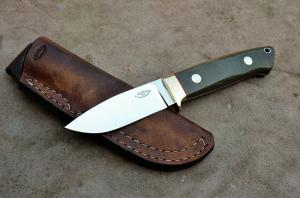 No.341 - Drop point N695/Micarta